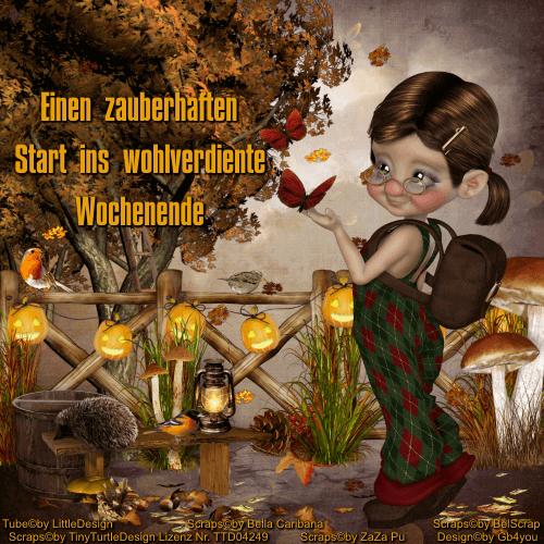 Wochenende -Herbst