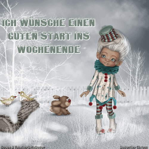 Wochenende -Winter