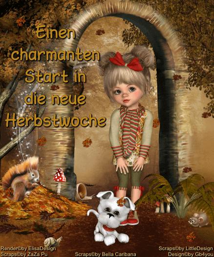 Wochenstart -Herbst