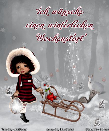 Wochenstart -Winter