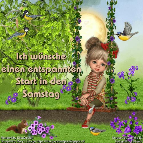 Samstag -Frühling