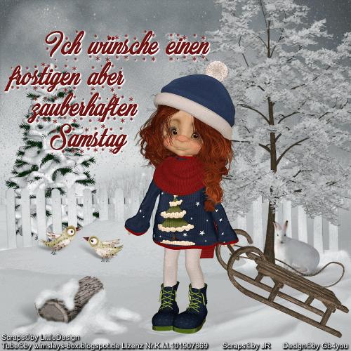 Samstag -Winter