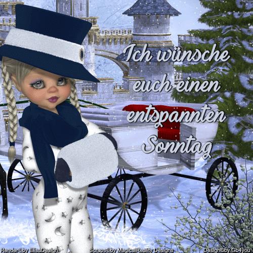 Sonntag -Winter